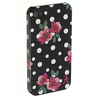 ACCESSORIZE mobile cases iPhone 4 Polka Black