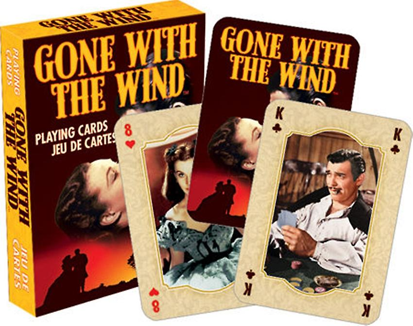 Gone With The Wind set of 52 playing cards (+ jokers)    (nm)