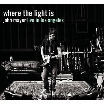 John Mayer - Where the Light Is: John Mayer Live in Los Angeles [CD] USA import