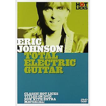 Eric Johnson - samlede Elektrisk Guitar [DVD] USA import