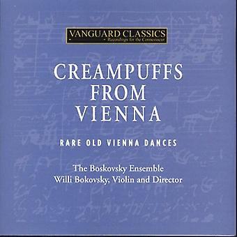 Strauss/Schubert/Beethoven/Haydn - Creampuffs fra Wien: Sjældne gamle Wien danse [CD] USA import