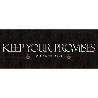 Gardez vos promesses Poster Print Taylor Greene