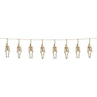 3D Garland Halloween decoration 10m skeletons skeleton horror chain