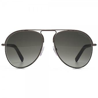 Tom Ford Cody Sunglasses In Shiny Gunmetal