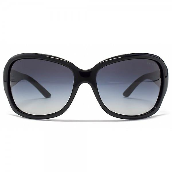 Ralph By Ralph Lauren Essential Wrap Sunglasses In Black