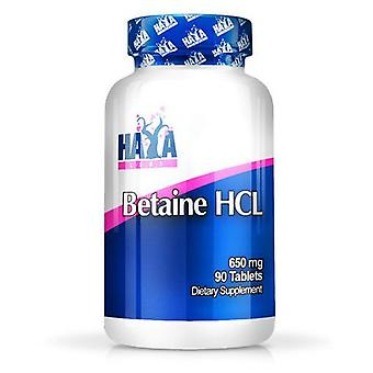 Haya Labs betain HCL 650mg 90 tabletter (Sport, andre)