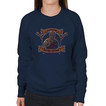 Doctores hellige jorden kæmper Academy Spartacus kvinders Sweatshirt