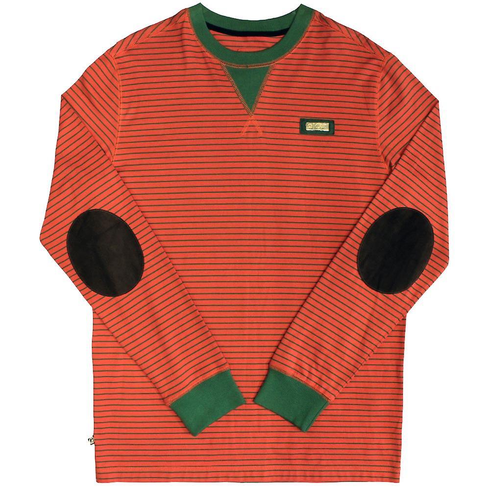 Cavi Bass Langarm T-Shirt rot grün
