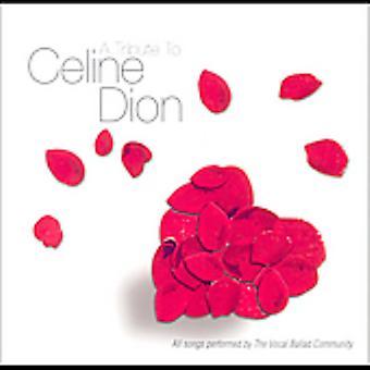 Tribute to Celine Dion - Tribute to Celine Dion [CD] USA import
