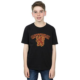 Harry Potter Gryffindor Sport emblema t-shirt