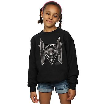 Star Wars Girls The Last Jedi Tie Fighter Sweatshirt