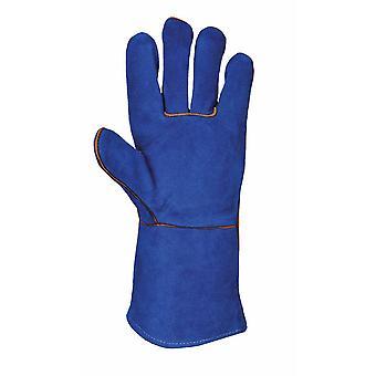 sUw - Welders Tough Leather Gauntlet Glove (3 Pair Pack)