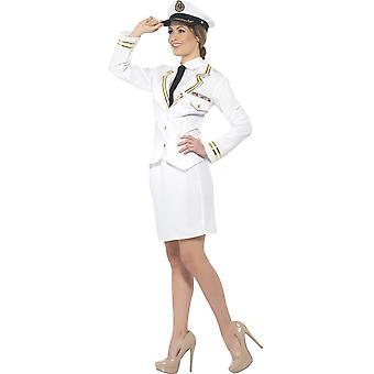 Vrouwen kostuums Captain lady jurk