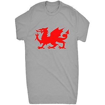 Berømte røde walisiske Dragon