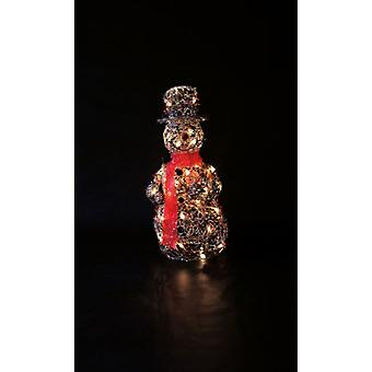 Twig & Berry Snowman Indoor Mains Powered Christmas Xmas Figurine 70cm