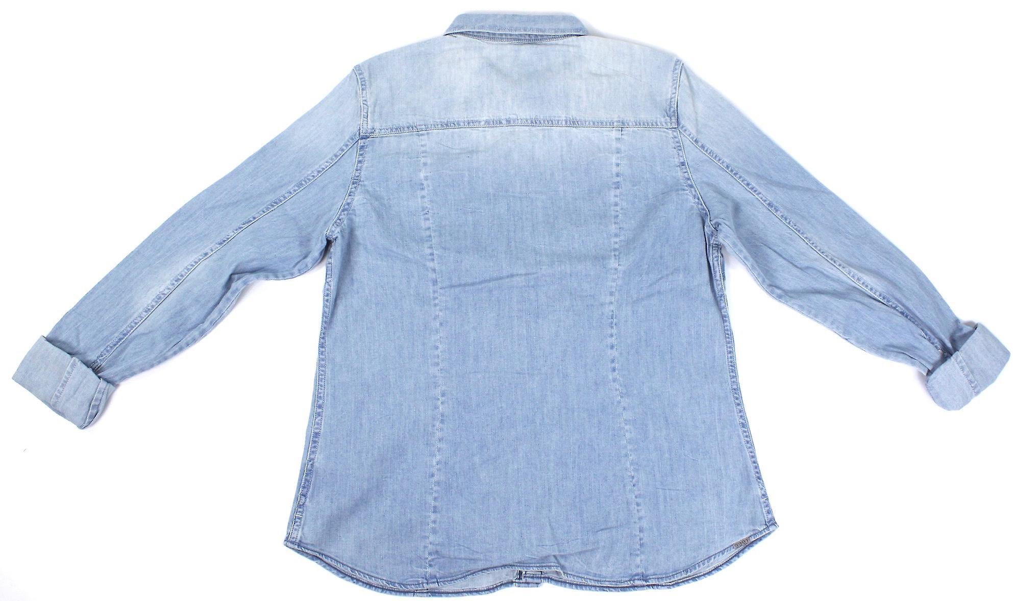 G-Star skräddare Slim skjorta dam Denim Casual skjorta  19fab533eb546