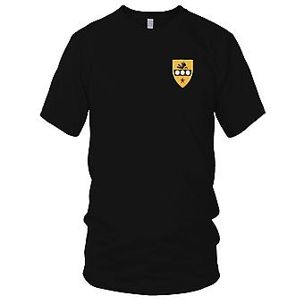 US Army - 305th Cavalry Regiment Embroidered Patch - Mens T Shirt