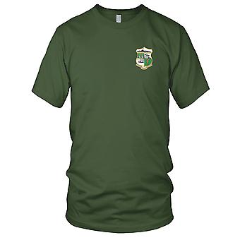 US Navy DD-711 USS Eugene A Greene Embroidered Patch - Mens T Shirt