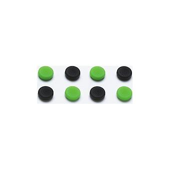 Snakebyte Xbox One Control Caps (4 x Black + 4 x green)