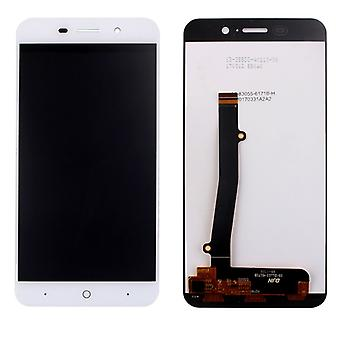 Display full LCD unit touch spare parts for ZTE blade A602 repair white new