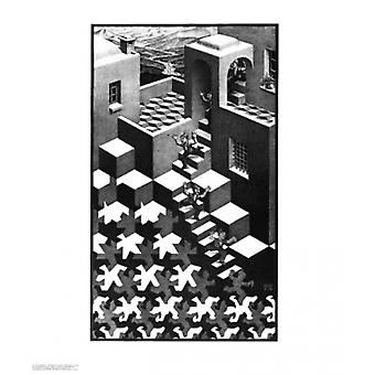 Cycle Poster Print by MC Escher (22 x 26)