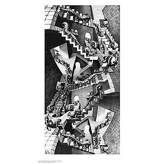 House of Stairs - MC Escher Poster Poster Print