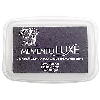 Memento Luxe Ink Pad-Gray Flannel ML-902
