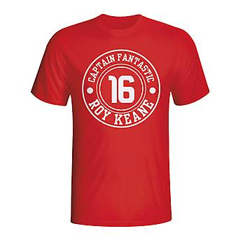 Roy Keane Man Utd Captain Fantastic T-shirt (rød)