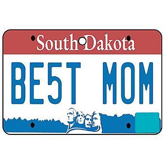 South Dakota - Best Mom License Plate Car Air Freshener