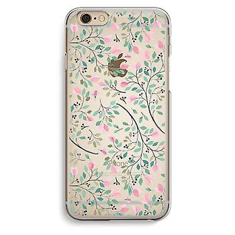 iPhone 6 / 6S Transparent Case - Dainty flowers