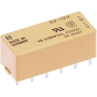 PCB relays 5 Vdc 4 A 2 makers, 2 breakers Panasonic