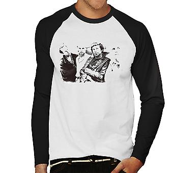 UK Subs Band Photo Men's Baseball Long Sleeved T-Shirt