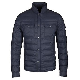 BOSS Casual Orin Grey Quilted Padded Jacket