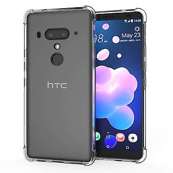 HTC U12 Alpha TPU Gel - klar