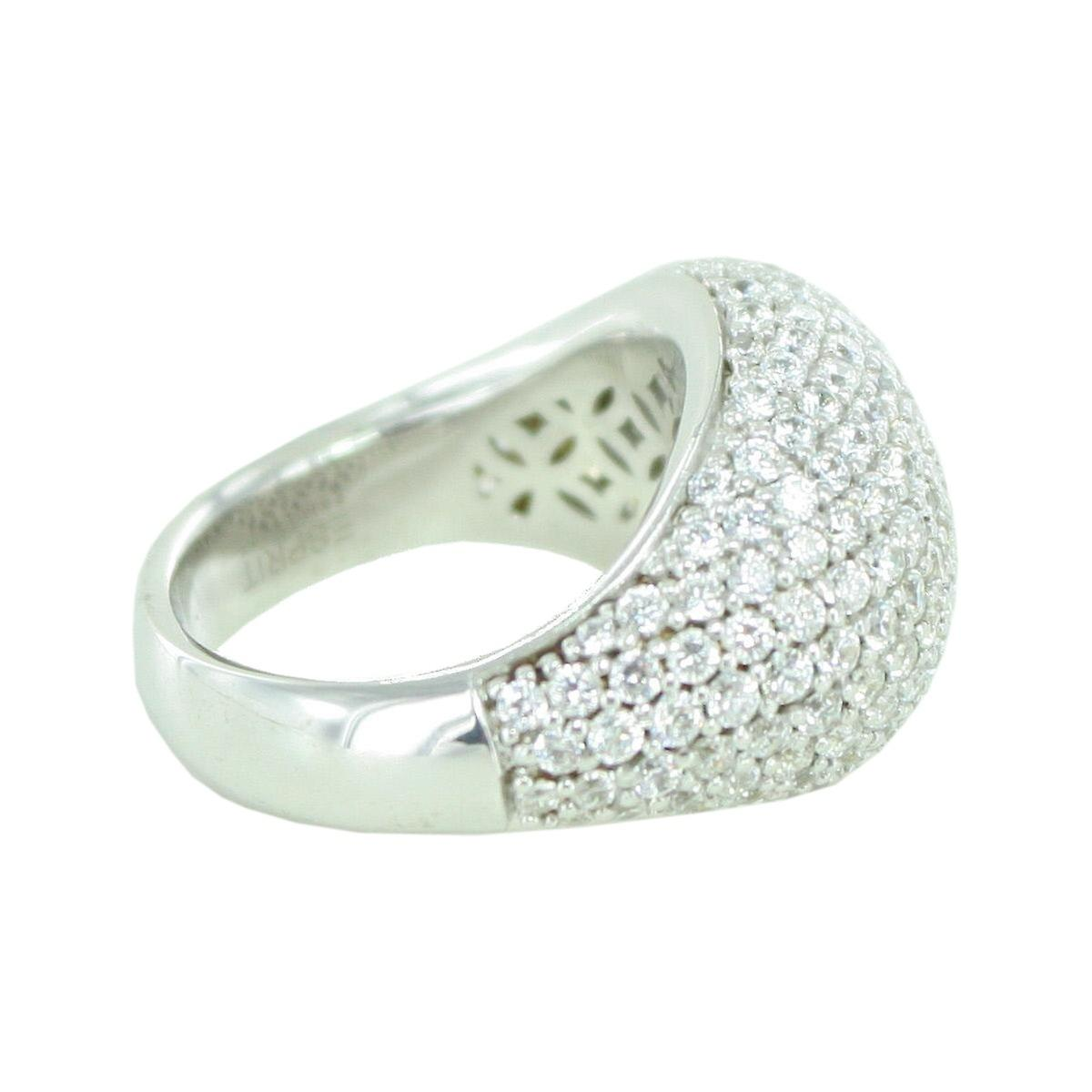 Esprit Collection femmes Ring argent Zirkonia Nyxia Gr.17 ELRG92034A170