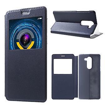 Booktasche Window Blau für Huawei Y6 / Honor 4A
