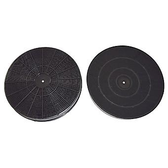 Type F233 Carbon Charcoal Cooker Hood Filter Pack of 2