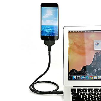 Überall Shell Mount Metall-USB-Ladekabel 50cm - Android