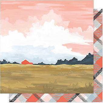 One Canoe Two Twilight Double-Sided Cardstock 12