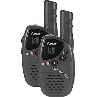 Stabo Freecomm 200 20200 PMR handheld Transceiver 2-teiliges set