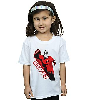 Disney Girls The Incredibles 2 Saving The Day T-Shirt