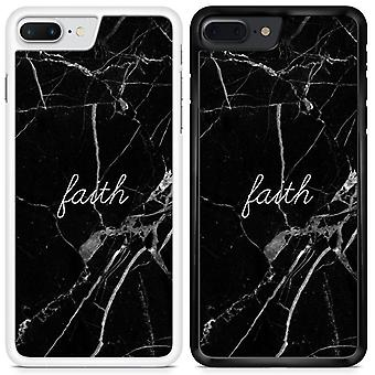 Quote Marble Design Faith Custom Designed Printed Phone Case For Samsung Galaxy S7 Marble05 / White