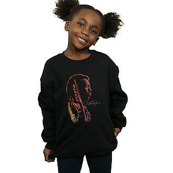 Jimi Hendrix Girls Shadow Profile Sweatshirt