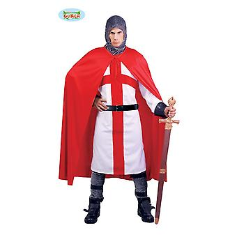 Crusade Knight costume for men Carnival Carnival crusader Mr costume of medieval fairy tale