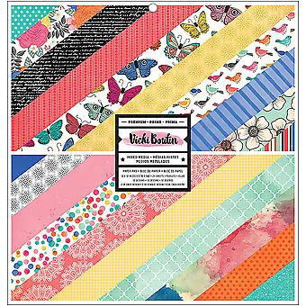 American Crafts Double-Sided Paper Pad 12