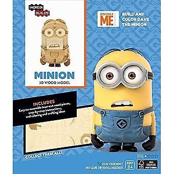 Incredibuilds Minions 3D Wood Model Kit Minion Kits