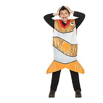 Animal costumes Children Orange fish costume