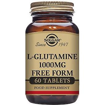 Solgar L-Glutamine 1000 mg 60 Tablets (Vitamins & supplements , Amino acids)