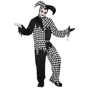 Harlekin Clown Dark Jester, Halloween