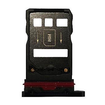 Für Huawei Mate 20 Pro Karten Halter Sim Card Tray Schlitten Holder Lila Ersatzteil